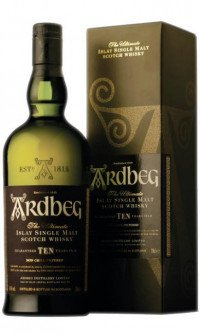 Ardbeg islay single malt 10 års