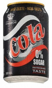 Harboe cola 0% sugar