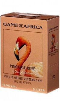 Game of africa pinotage rose