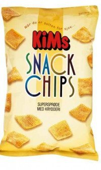 Kims snack chips original