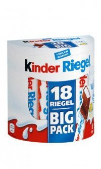 Kinder Riegel 18 stk.