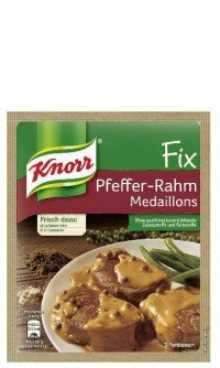 Knorr Fix Pfeffer Rahm Medaillons