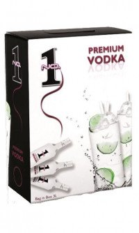 No. 1 Premium Vodka 3 liter