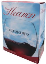 Heaven Elegant Red 3 L.