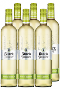 Black Tower White Bubbly 0.75L