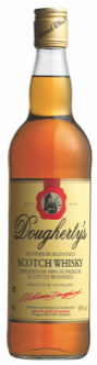 Doughertys Whisky 40% 0.7 L.