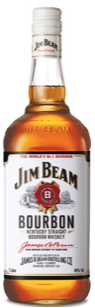 Jim Beam Whisky 40% 1 L.