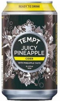 Tempt Juicy Pineapple 4.5% 24x0.33 L