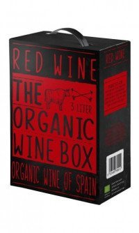 The organic wine box red wine