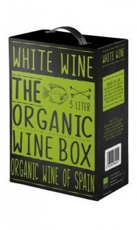 The organic wine box white wine