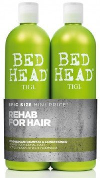 Tigi Bed Head Grøn 2x750 ml.