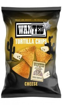 Wanted tortillachips cheese
