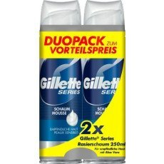 Gillette Sensitive Duo-Pack 2x200 ml.