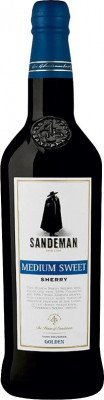 Sandeman Medium Sweet Sherry 15% 0.75 L