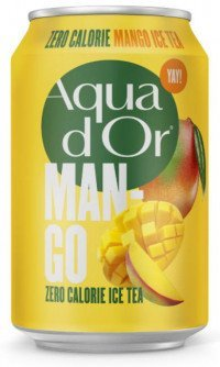 Aqua Dor black tea mango