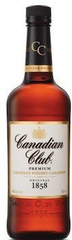 Canadian Club Whisky 40% 1 L