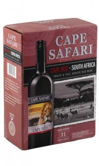 Cape Safari cape red