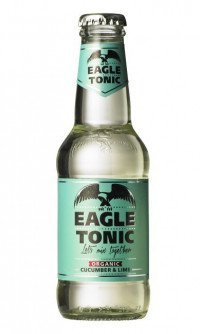 Eagle tonic cucumber and lime