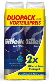 Gillette Basis Sensit2x200 ml