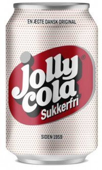 Jolly cola sukkerfri