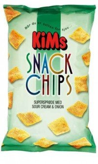 Kims Snack Chips Sour Cream165