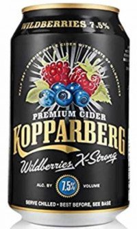 Kopparberg wildberries 7,5%