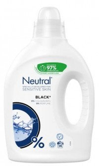 Neutral Flydende Black 1250 ml