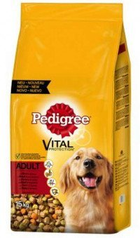 Pedigree Adult 5 Sorten 15 Kg