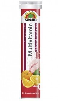 Sunlife multivitamin brusetabletter
